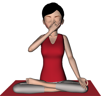Anulom Vilom Pranayama yoga Alternate Nostril Breathing benefits Steps 7pranayama