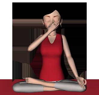 Surya Bhedana Pranayama Right Nostril Breathing Steps Benefits