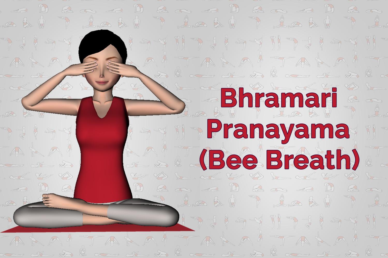 Bhramari pranayama Bee Breath Breathing Techniques