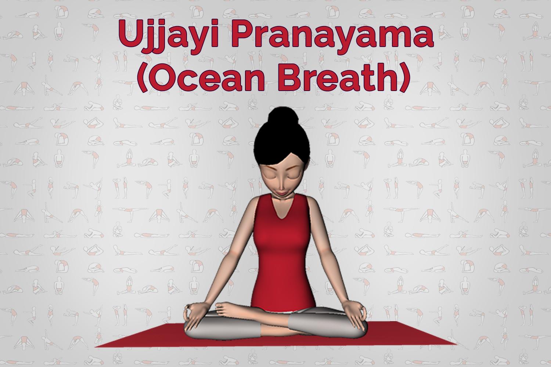 Ujjayi Pranayama Ocean Breath Steps Benefits 7Pranayama