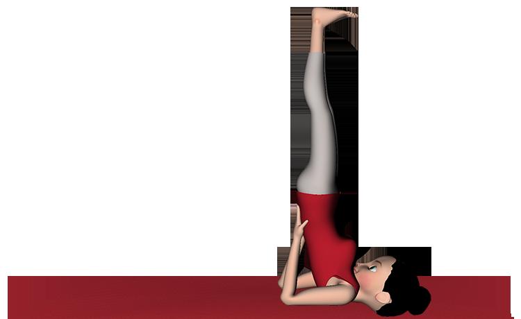 Sarvangasana Shoulder Stand Yoga Steps Benefits pranayama