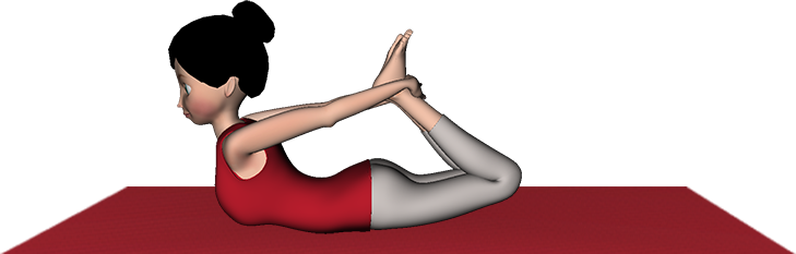 Dhanurasana Yoga Bow Pose Steps Health Benefits Precautions