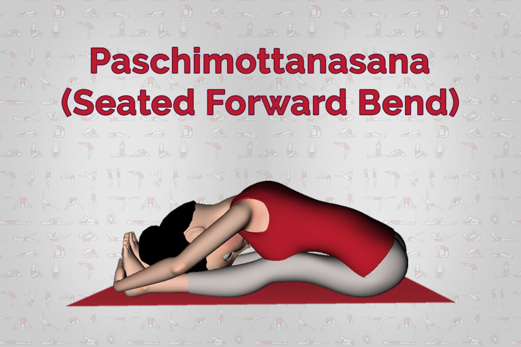 Paschimottanasana Yoga Seated Forward Bend Steps Benefits