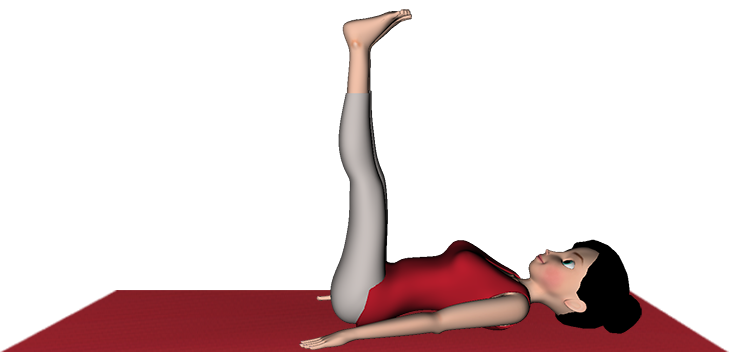 Vipritkarani Asana Yoga LegsUp TheWall Steps Benefits