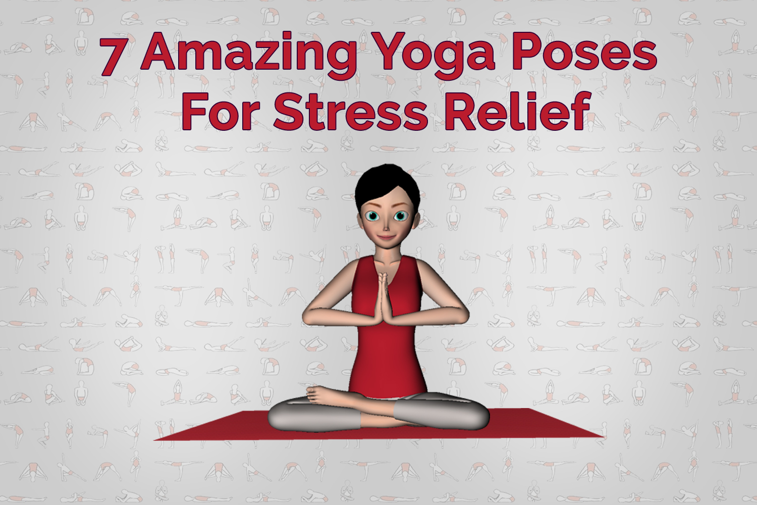 The 10 Best Yoga Poses For Stress Relief (PHOTOS)