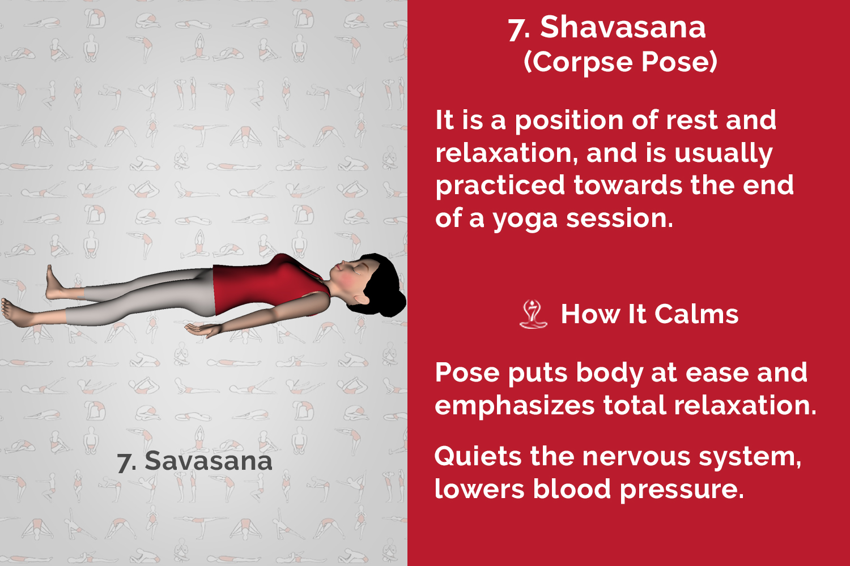 yoga stress relaxation calmness pranayama