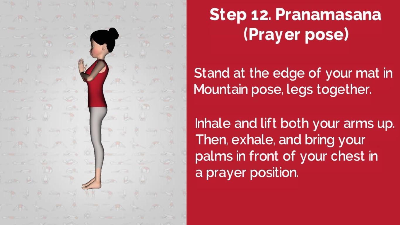 Surya Namaskar Step 12