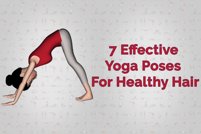 yoga healthy hair