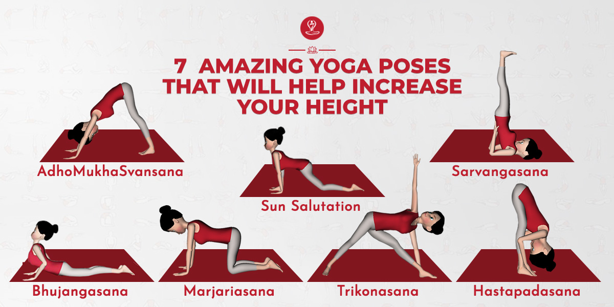 yogasana for height