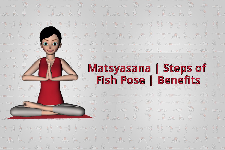 matsyasana fish pose