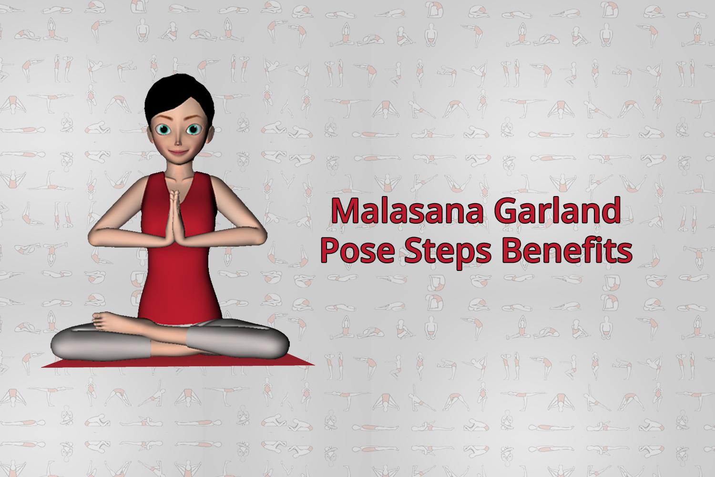 malasana garland pose
