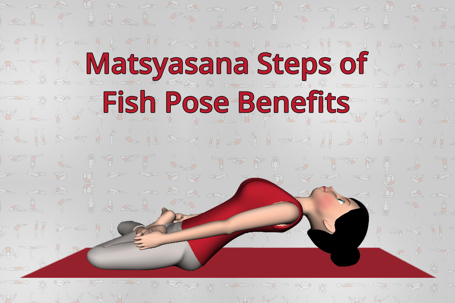 Matsyasana Steps With Images