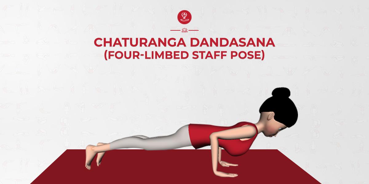 How To Do Chaturanga Dandasana And Benefits Chaturanga Dandasana