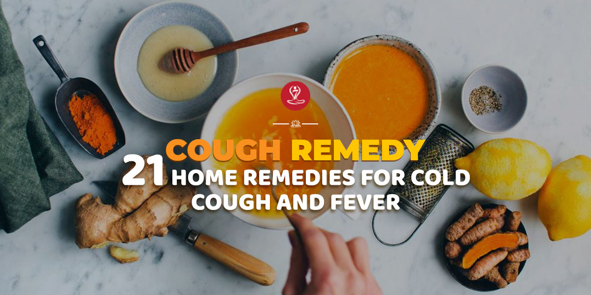 home remedies for cold cough fever