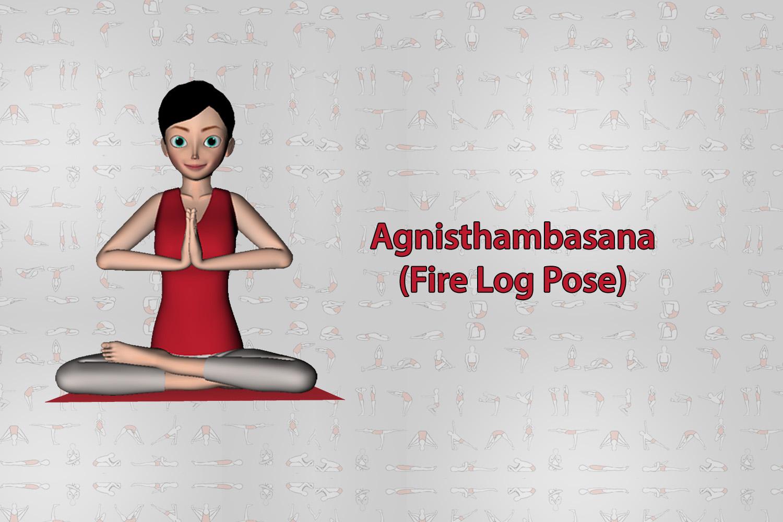 Agnisthambasana
