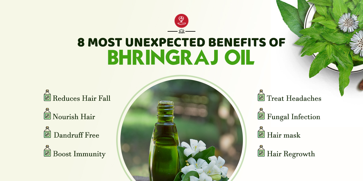 Benefits of Bhringraj oil