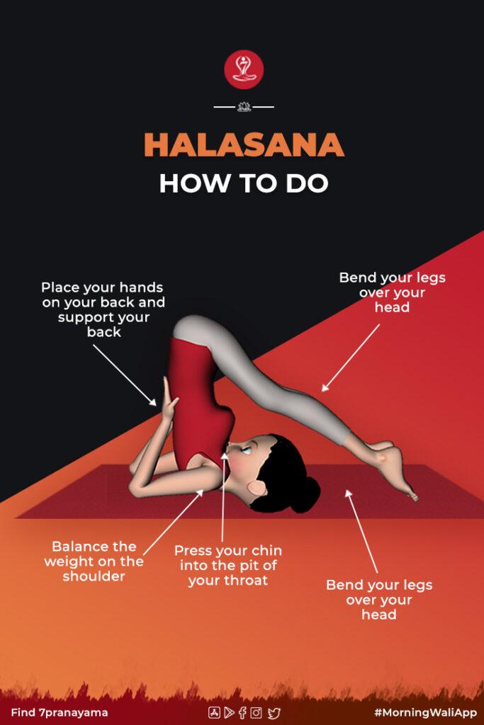 How to halasana