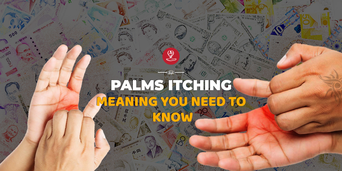 Palms itching