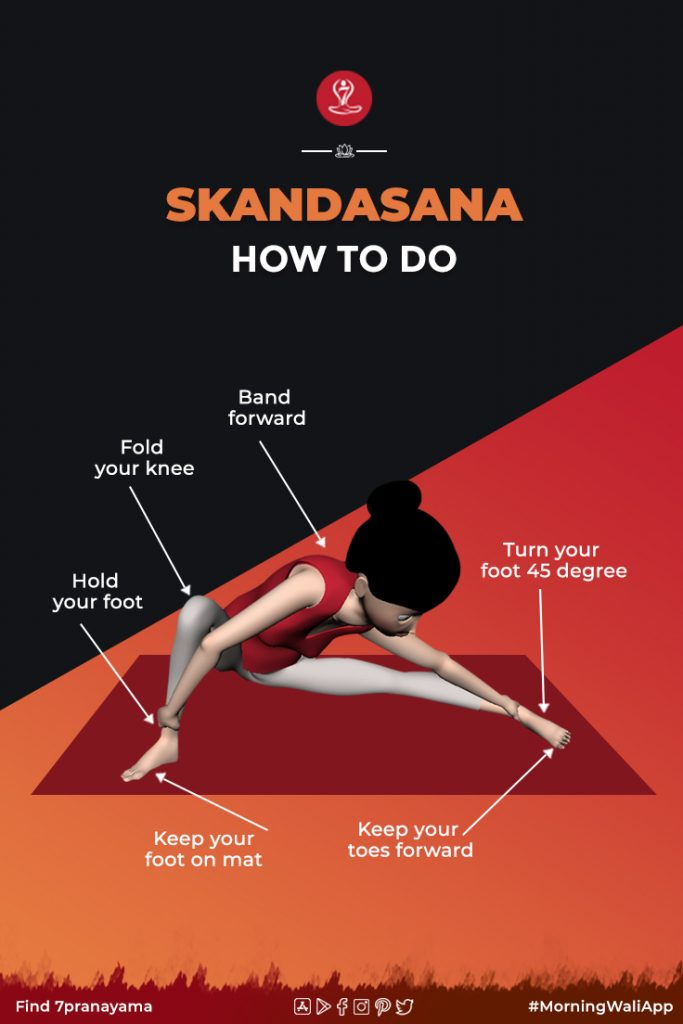 How to do Skandasana