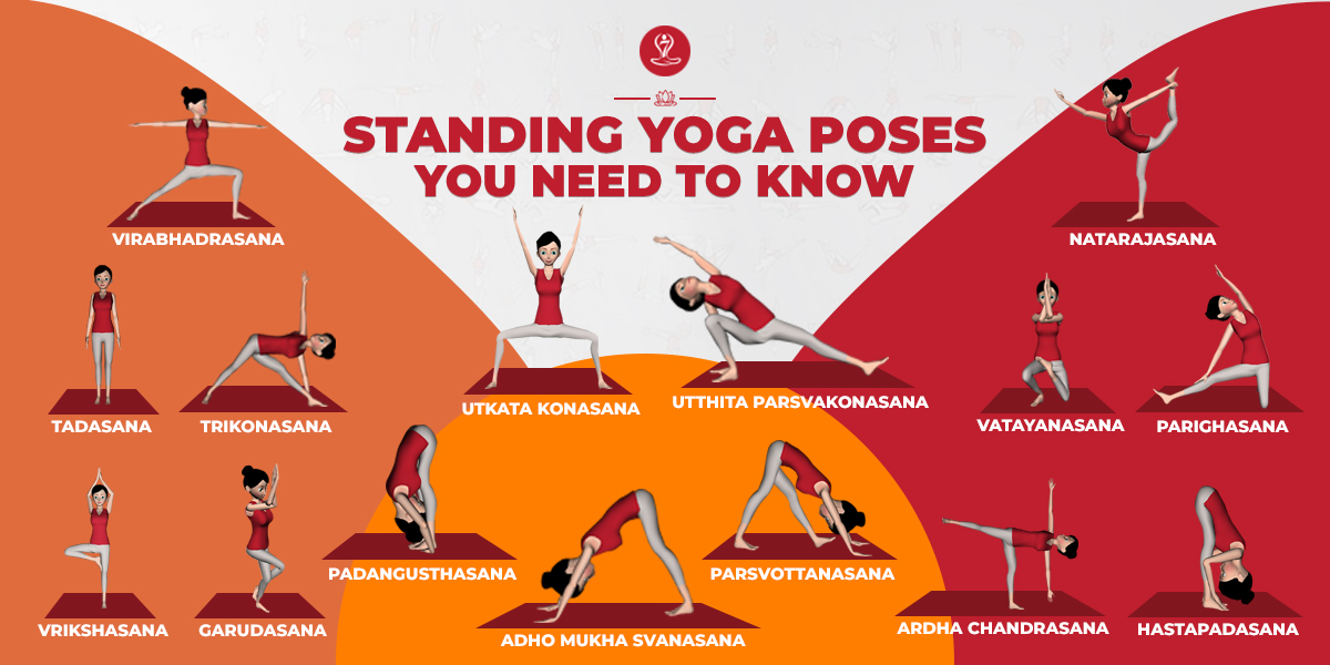 Standing Yoga Poses You Need To Know 7pranayama Com