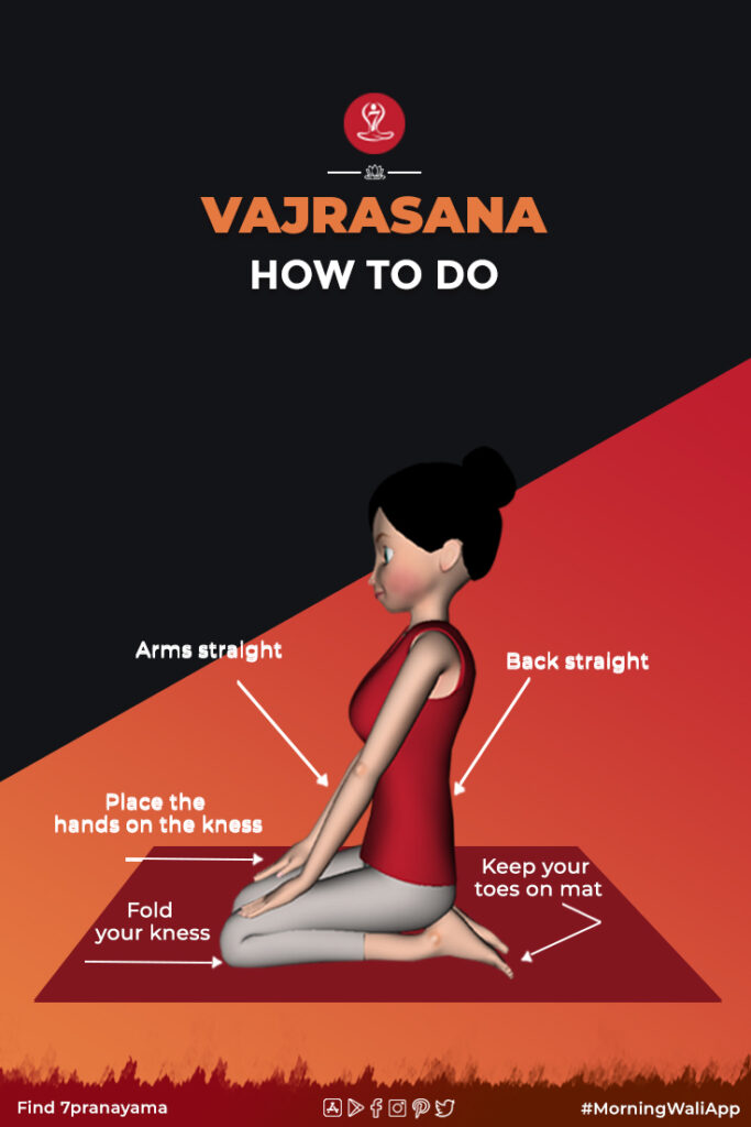 How to do Vajrasana