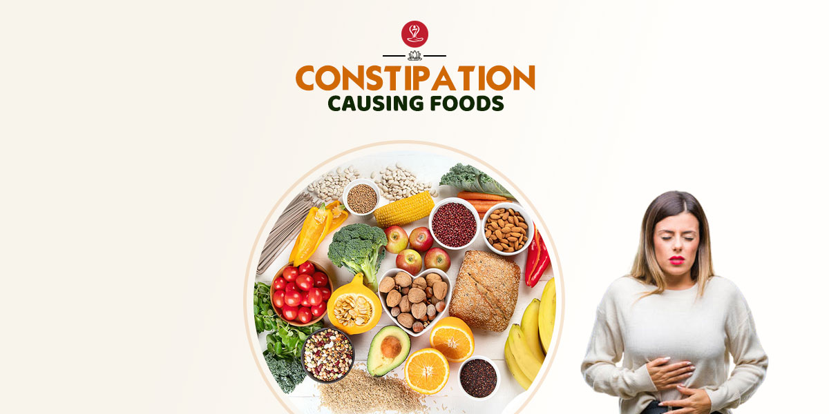 Constipation Causing Foods