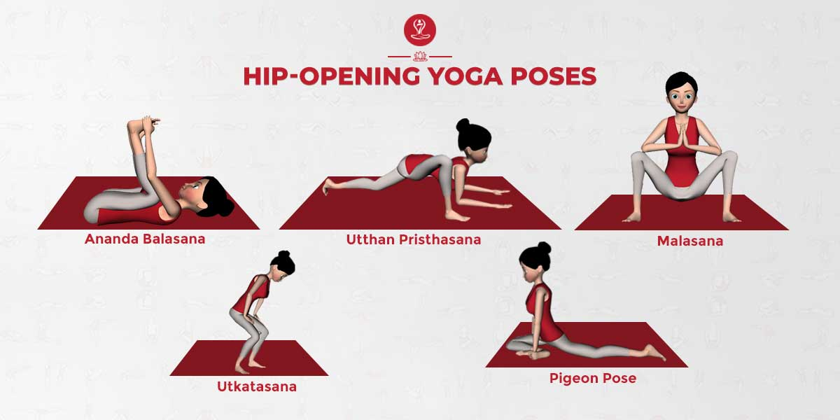 Hip-Opening yoga poses