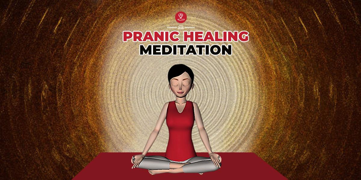 Pranic healing meditation