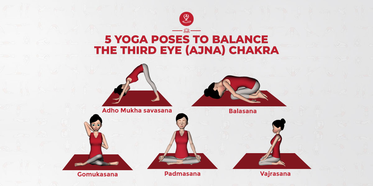 Yoga Poses to Balance The Third Eye (Ajna) Chakra