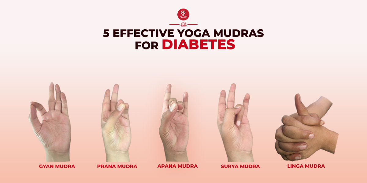 Yoga Mudras For Diabetes