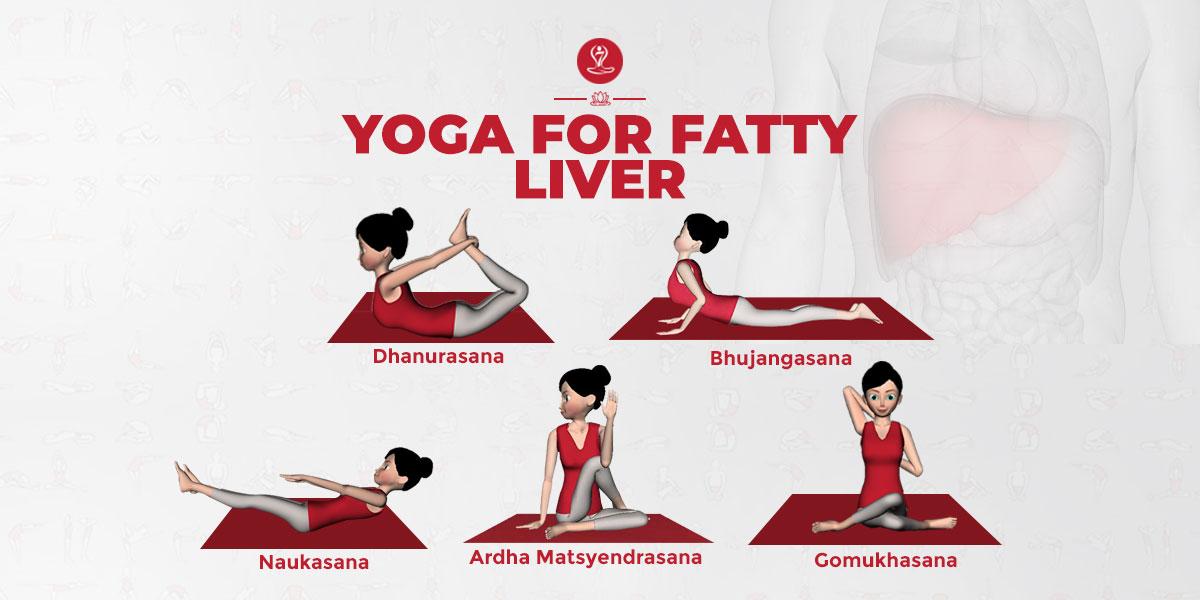 Yoga for fatty liver