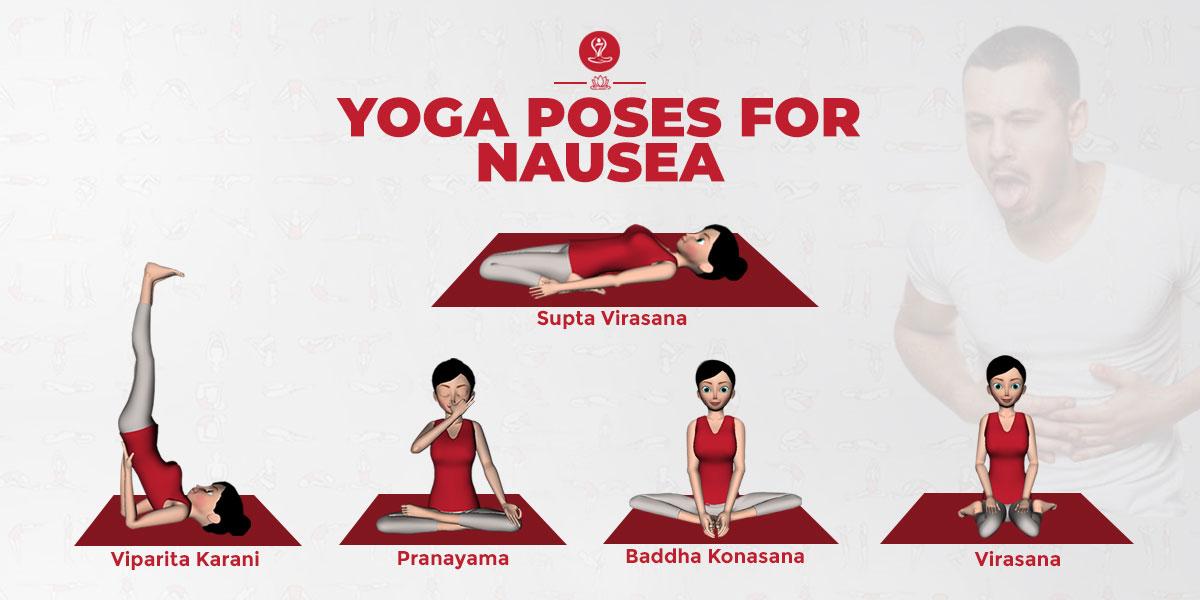 yoga pose for Nausea