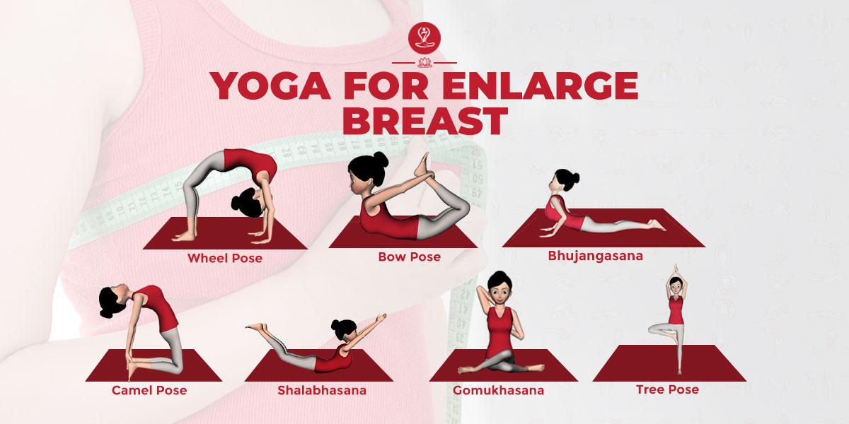 Yoga For Enlarge Breast