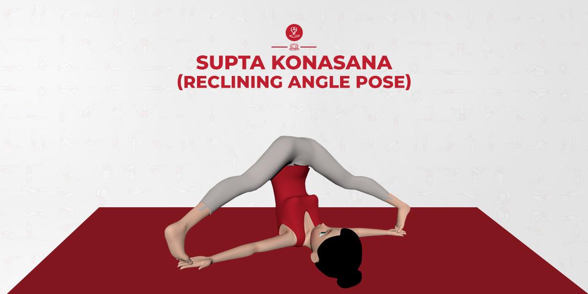Supta Konasana